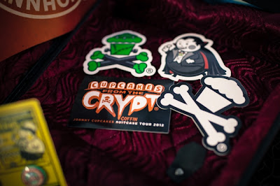 "Johnny Cupcakes 2012 Suitcase Tour ""Cupcakes From The Crypt"" Exclusives - Halloween Stickers"