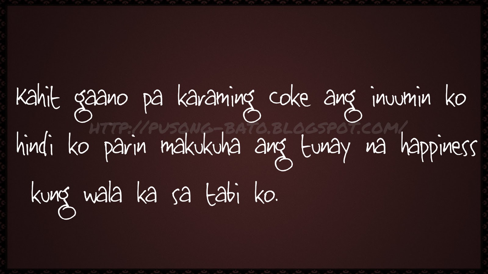 Banats Love Quotes Tagalog : Banat Tagalog Love Quotes Collection Pick up lines Sad Quotes ...