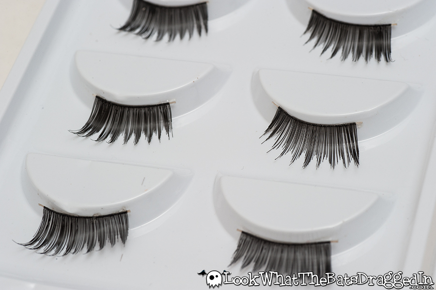 KKCenterHK.com false lash review, ES 5 Pairs Handmade Black Half Luxuriant False Eyelashes [ES-A503]