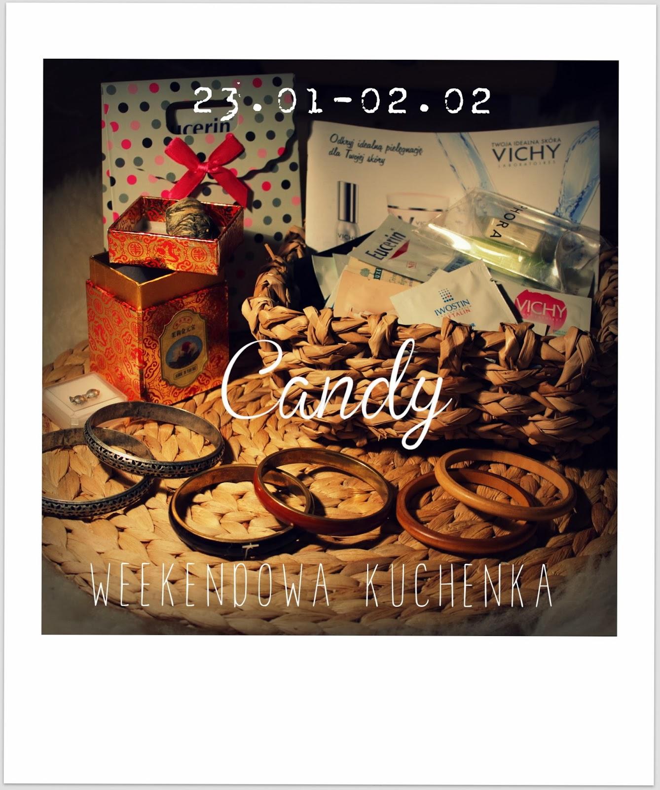 Wygrałam :) Candy Weekendowa Kuchenka.