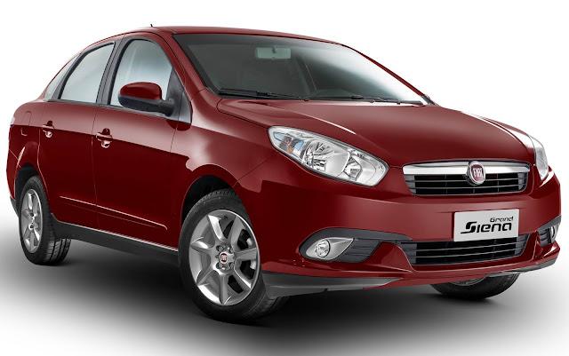 Novo Fiat Grand Siena Attractive 2014 - fotos e preços