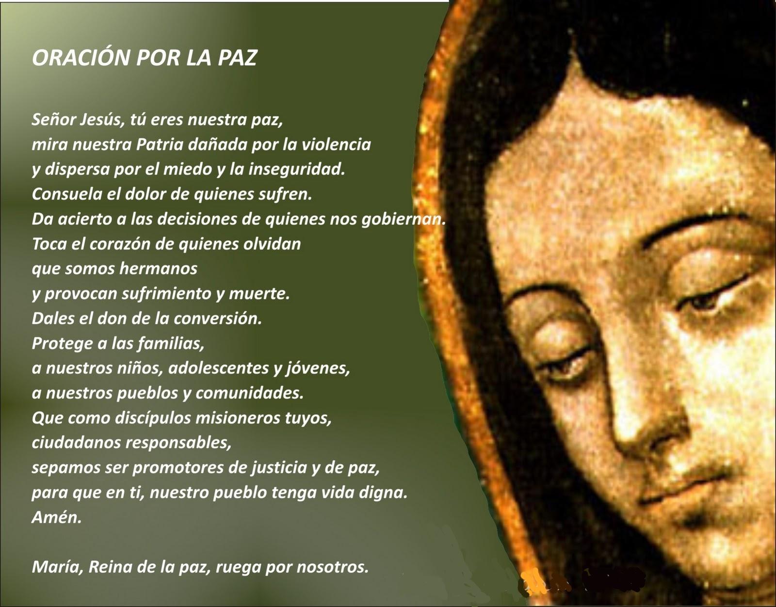 Oracion Para La Paz