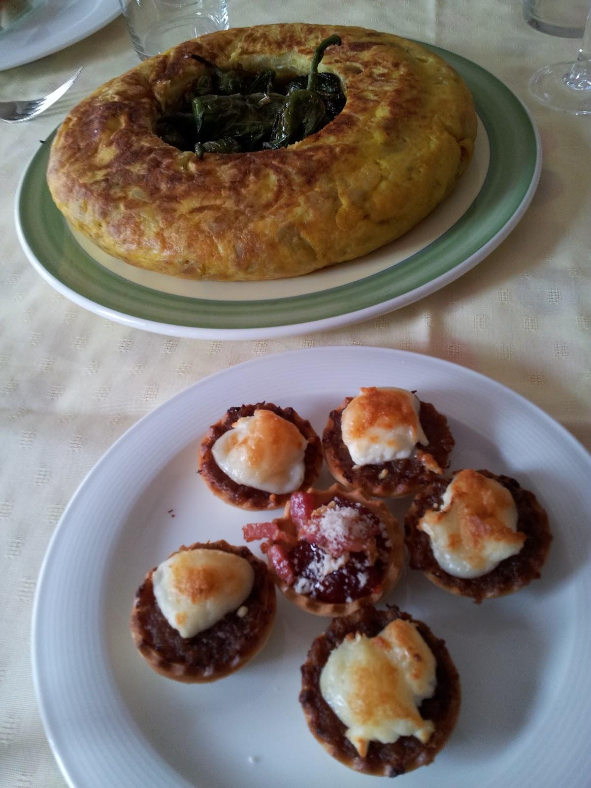 Cocinar entre libros tartaletas de cebolla caramelizada Cocinar queso de cabra