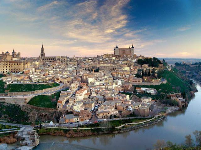 Vista da cidade de Toledo
