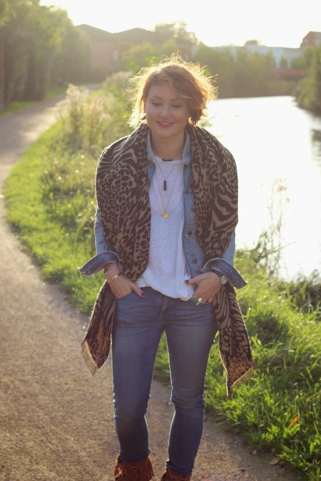 juste juliette, juliette, automne, surf, zara, denim, minnetonka, asos, léopard, blog mode lille, fashion blogger,