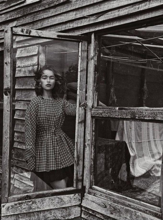 Emilia Clarke in Dior magazine