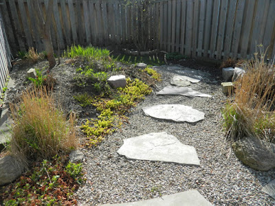 Coxwell East Danforth backyard renovation before by Paul Jung Gardening Services Toronto