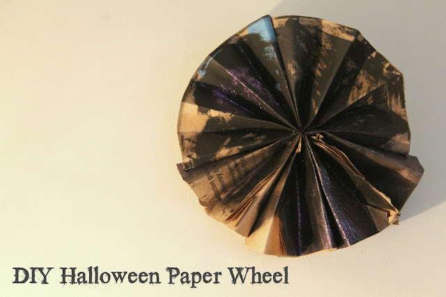 DIY Halloween Paper Wheel