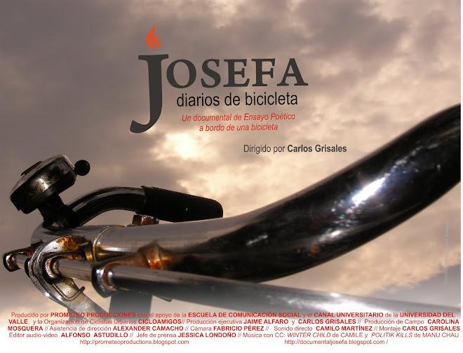 JOSEFA, DIARIOS DE BICICLETA
