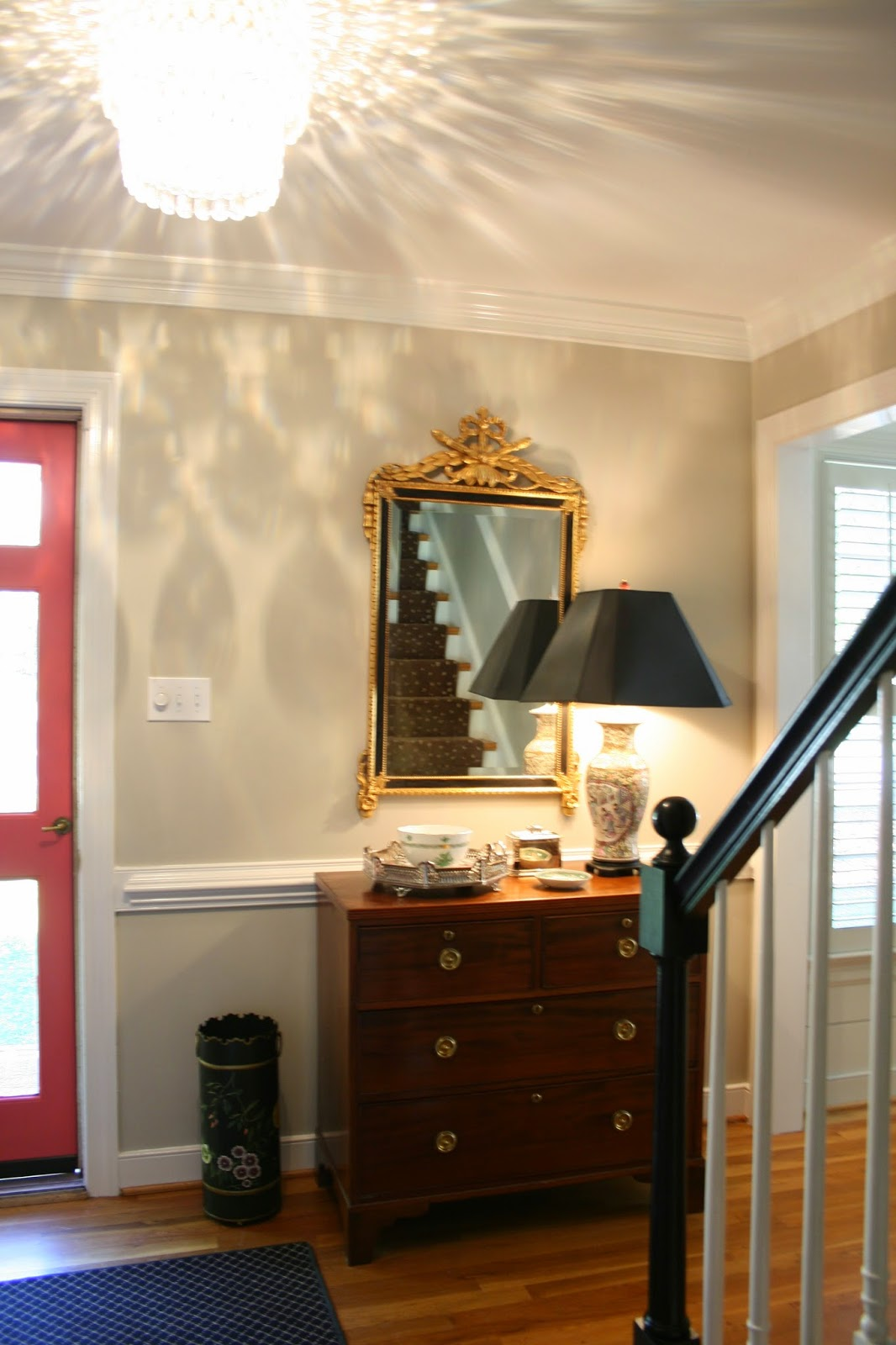 Foyer Wales Home Richmond : Richmond real estate mom new house foyer updates