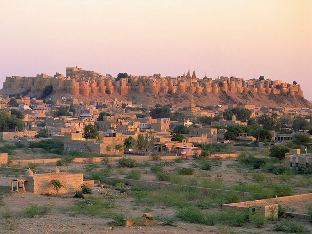 Jaisalmer Fort - one of the largest fortifications in the world