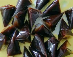 Cara Membuat Panganan Dodol Agar-agar Cokelat Kismis