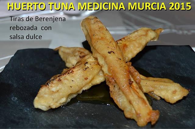 Berenjenas rebozadas huerto tuna medicina