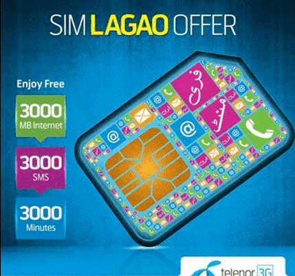 Telenor SIM Lagao Offer