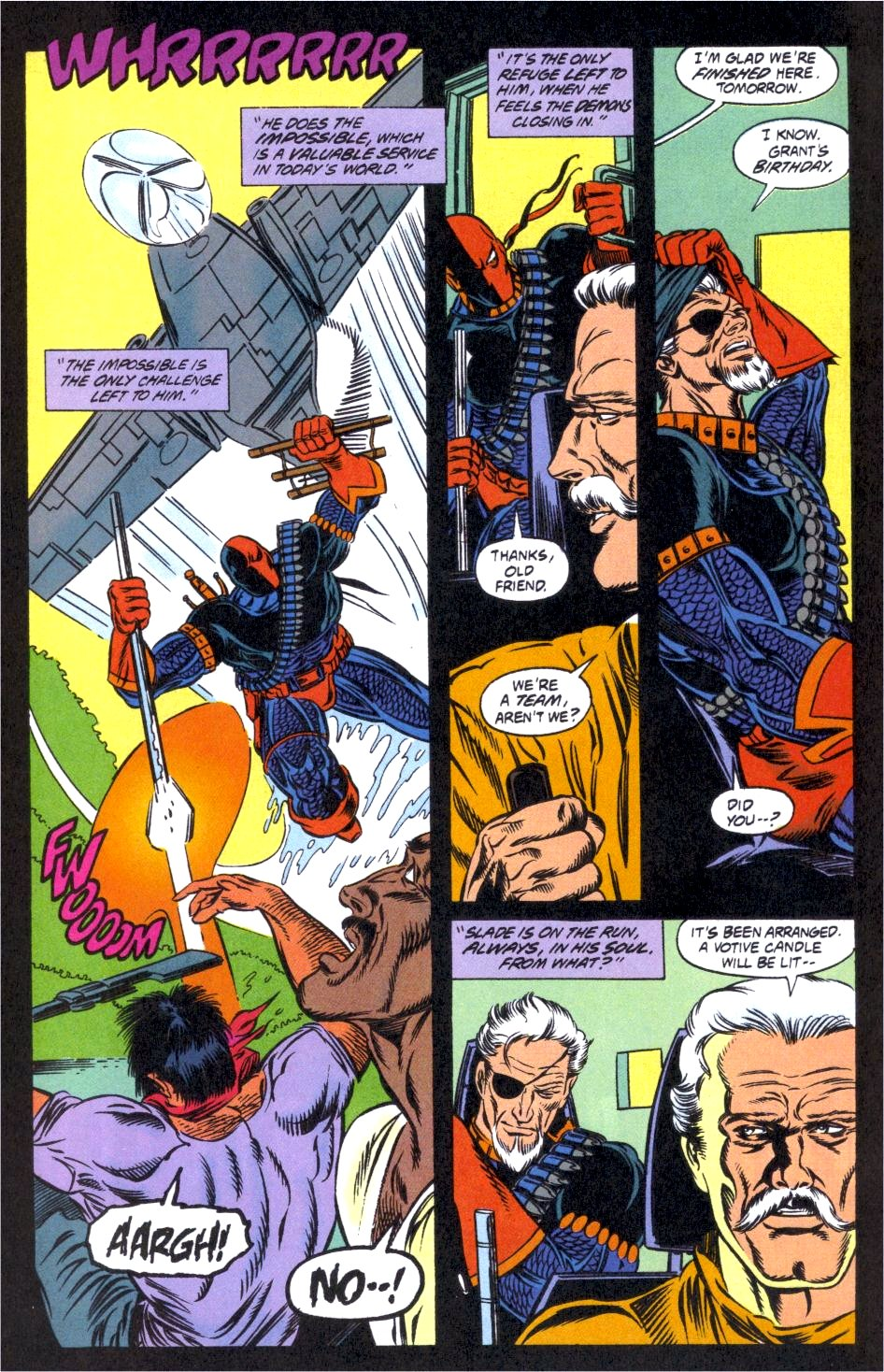 Deathstroke (1991) Issue #12 #17 - English 23
