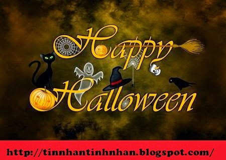 tin nhan Sms Halloween