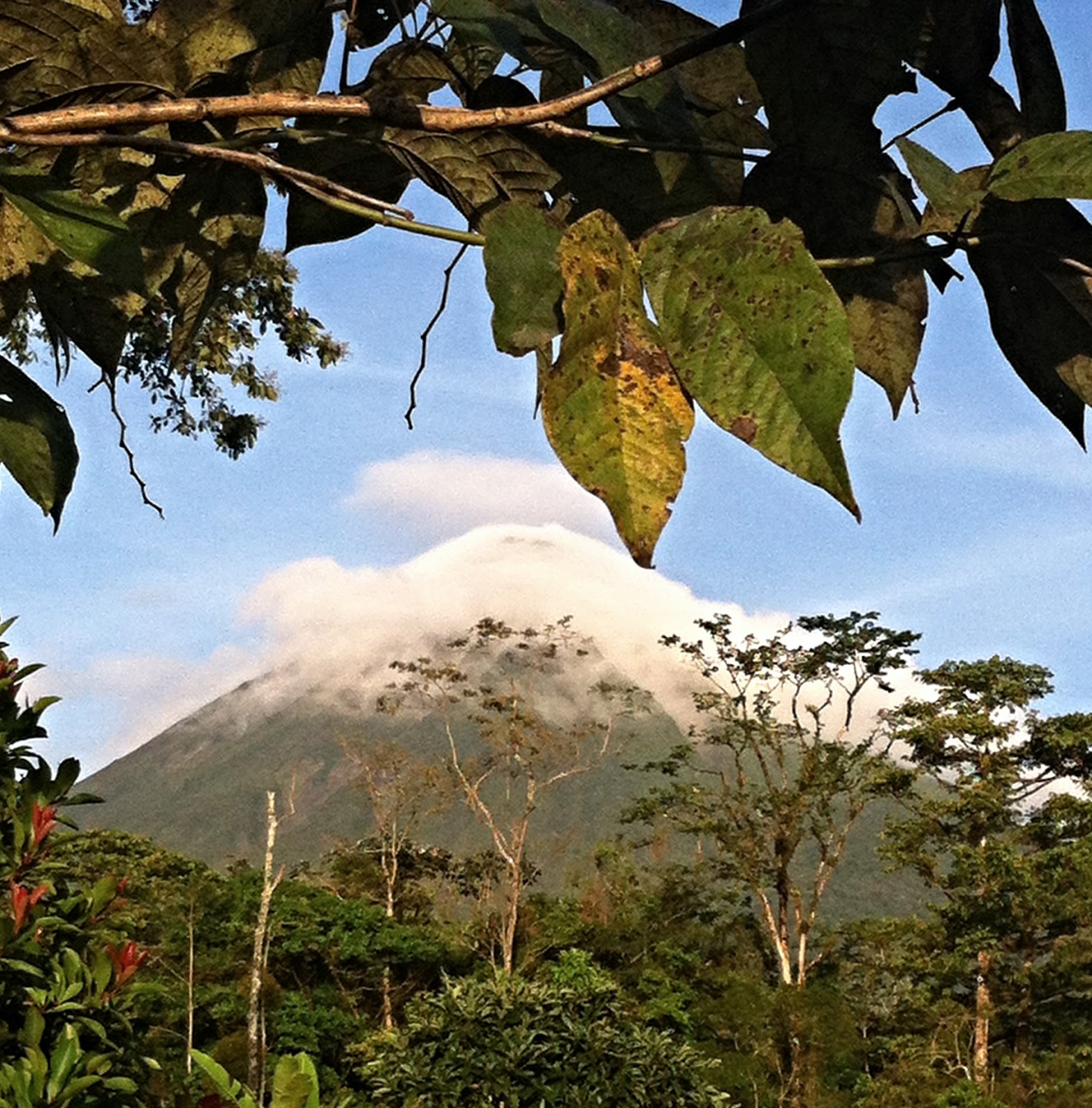 Vulkan Arenal in Costa Rica