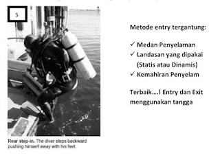 Diving entry