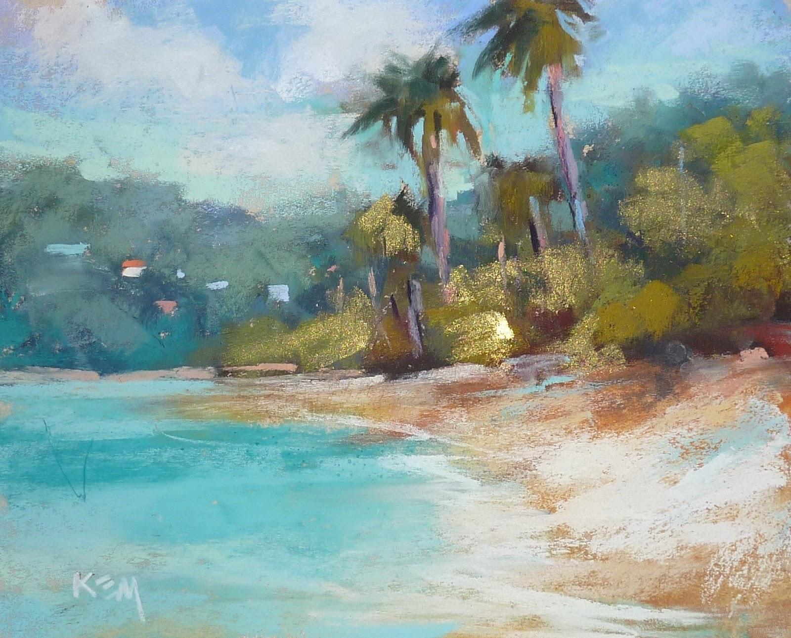 Florida Beach Paintings On Canvas
