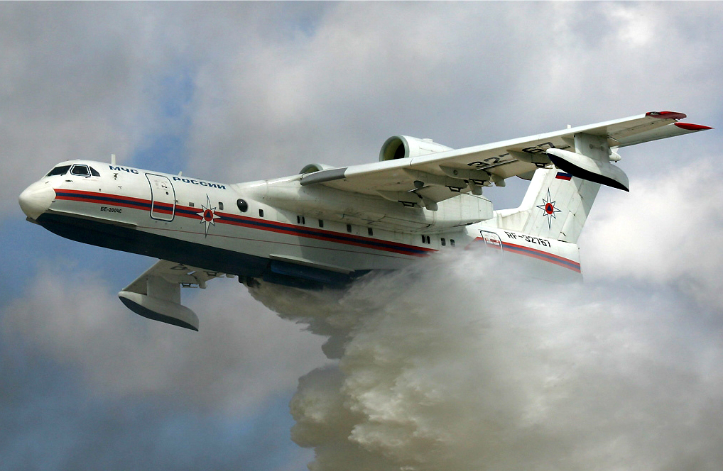 Beriev Be-200 waterbomber