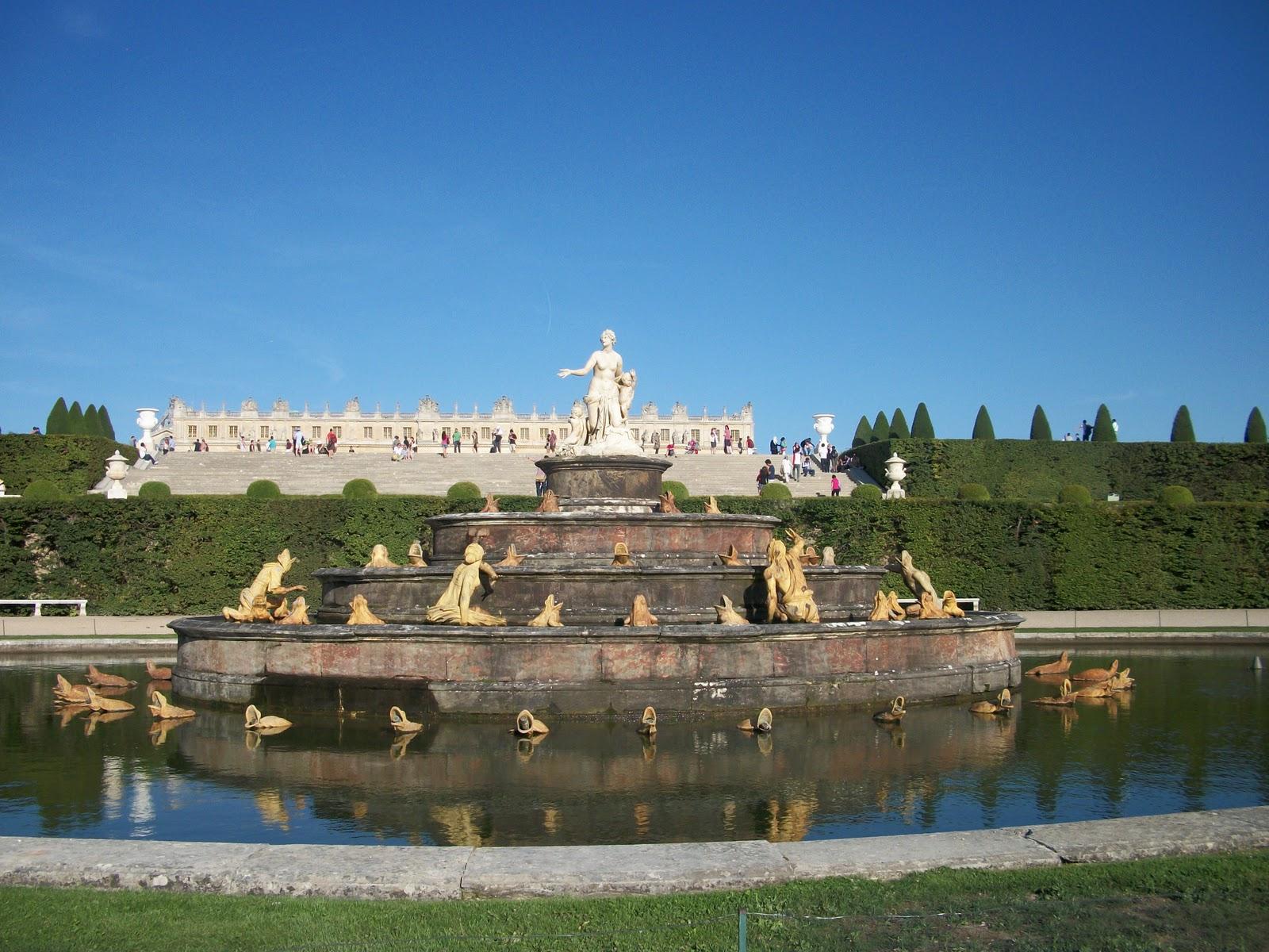 Gardens of chateau de versailles - Photo chateau de versailles ...
