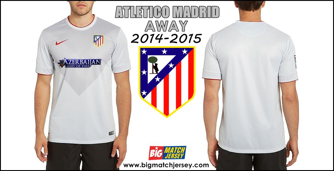 Grosir Baju Bole Grade Original dan Player Issue Jersey Atletico Madrid Season 2015 La LIga