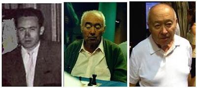 Josep Ridameya, en 3 etapas diferentes de su vida