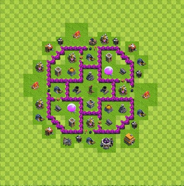 Base farming layout th6 by spikerush base farming layout th6 by