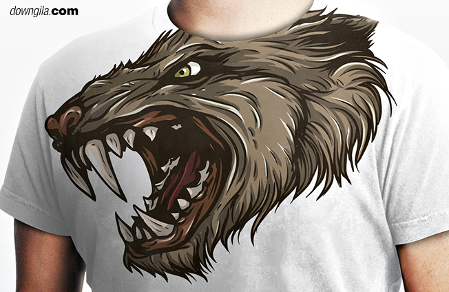 Downgila design tshirt
