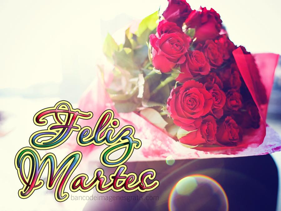 SUELY  cariñet Feliz-martes-ramo-de-rosas-rojas