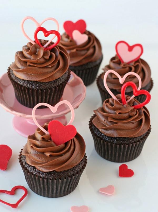 Cupcakes San Valentin, parte 2