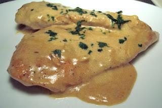 Chicken with Mustard Cream Sauce
