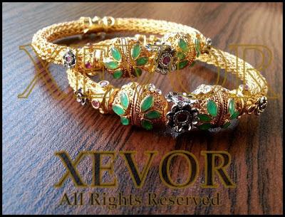 Xevor stones and kundan Latest jewellery Trend 2013-2014