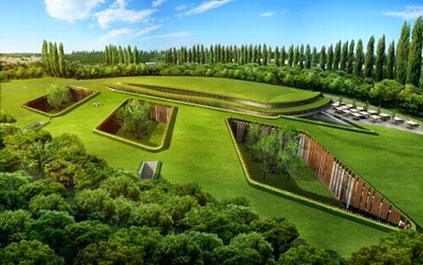 eco friendly hotels - london hotel goes underground to make the green belt greener elite