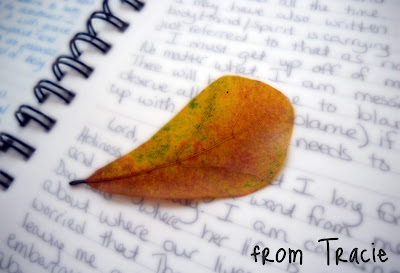 Journal and Leaf