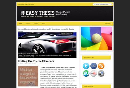 Diy Thesis Wordpress Theme