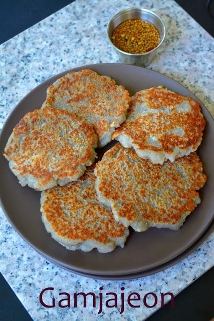 Gamja Jeon ~ Korean Potato Pancakes