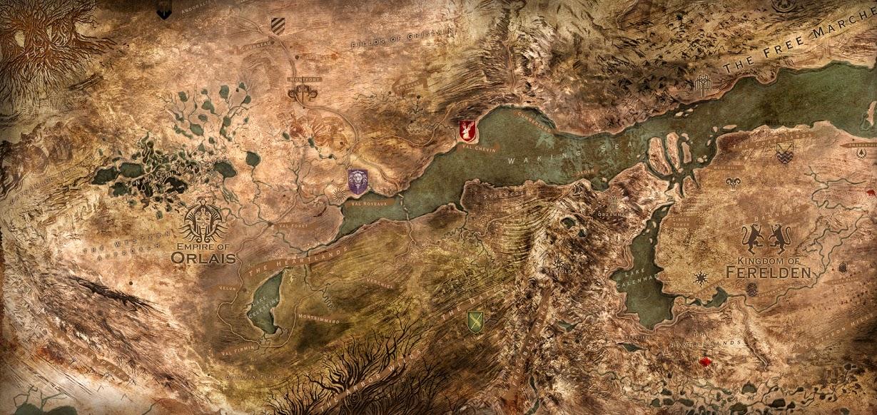 dragon age mapa orlais ferelden mesa de guerra