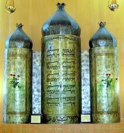 ארון הקודש המרשים בבית הכנסת
