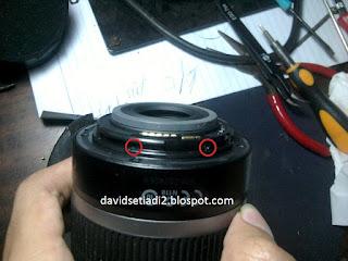 Cara Memperbaiki Lensa Kit CANON 18-55