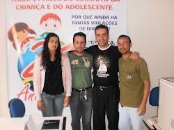 Pe. Estevam Santos, visita a sede do Conselho Tutelar de Poções