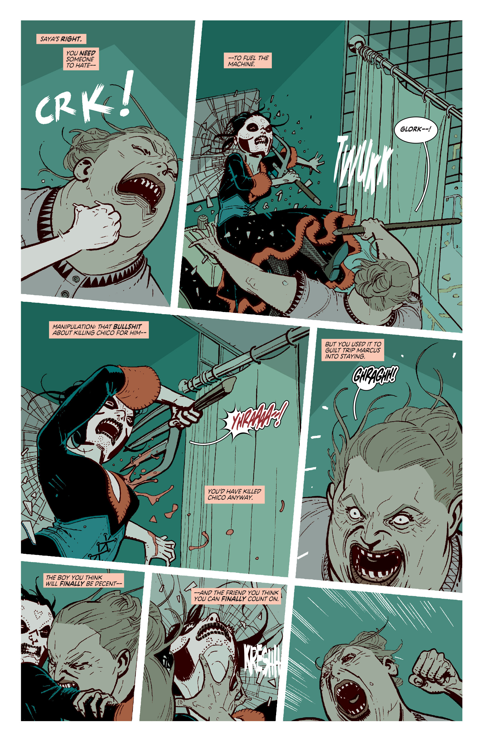 Read online Deadly Class comic -  Issue #11 - 11