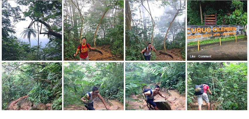 Trekking Curug 7 Cilember