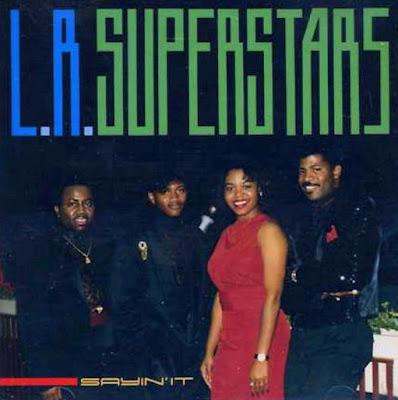 L.R SUPERSTARS SAYIN IT 1990