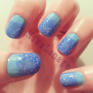 sinful-colors-blue-glitter-manicure