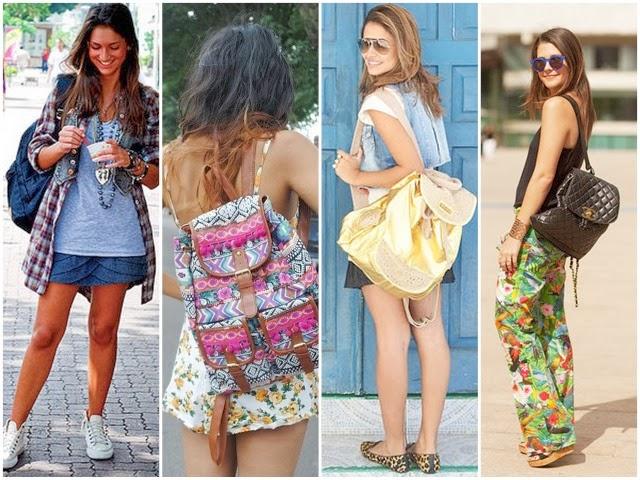 Bolsa Mochila Feminina Como Usar : N?o vou sair assim como usar mochila feminina