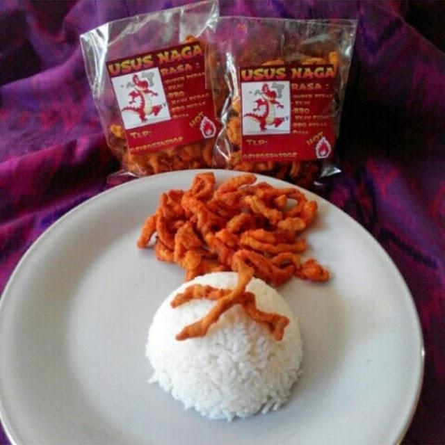 Usus Naga w/ rice