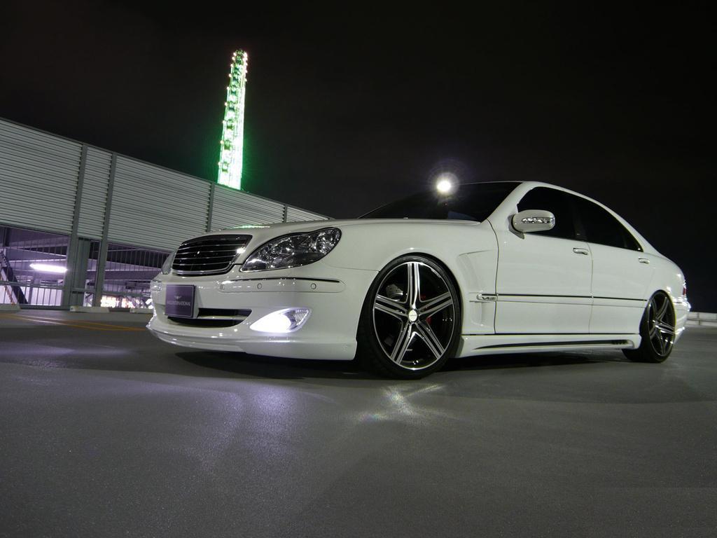 Mercedes W220 Wald 3 Mercedes W220 Tuning
