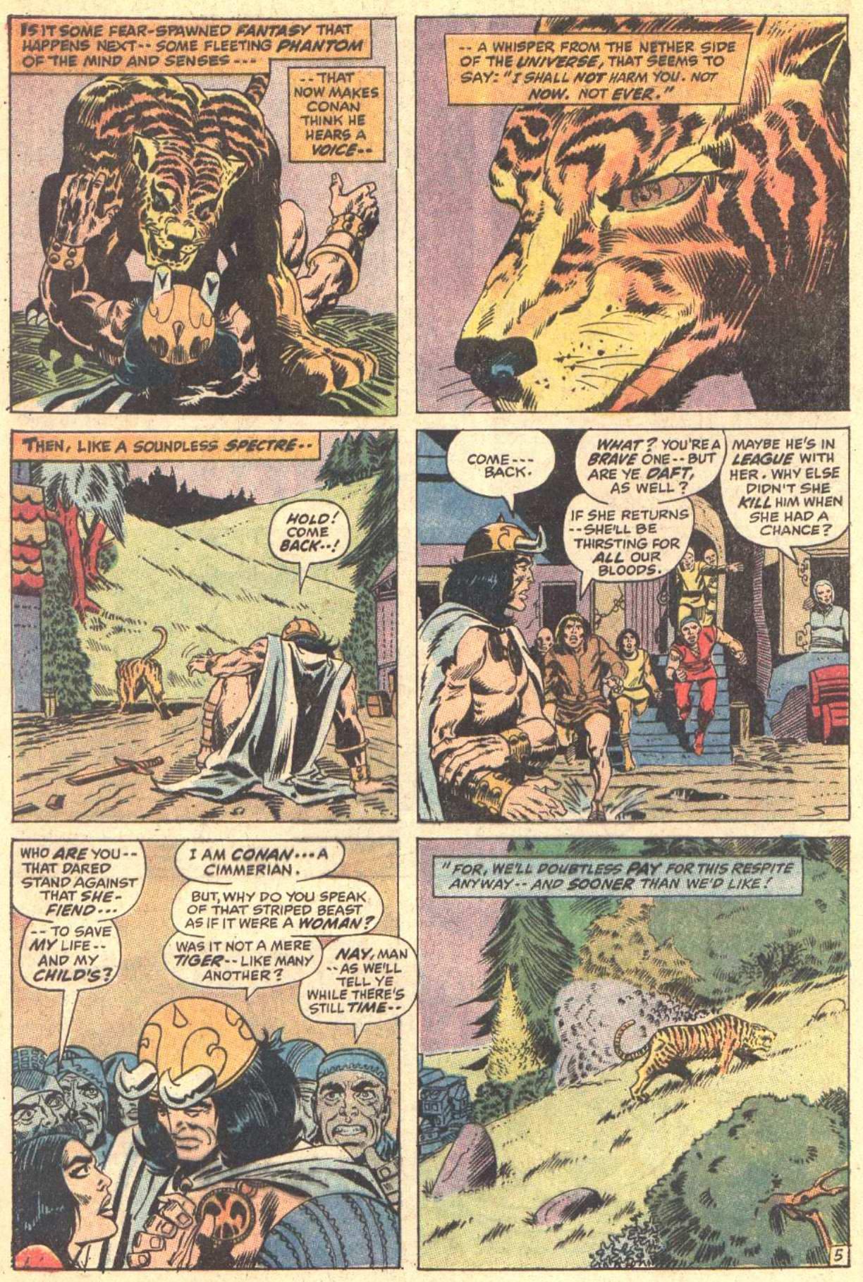 Conan the Barbarian (1970) Issue #5 #17 - English 6