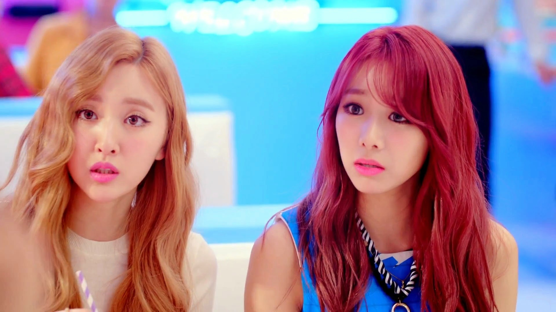 Bestie's Haeryung and Uji from Excuse Me Teaser